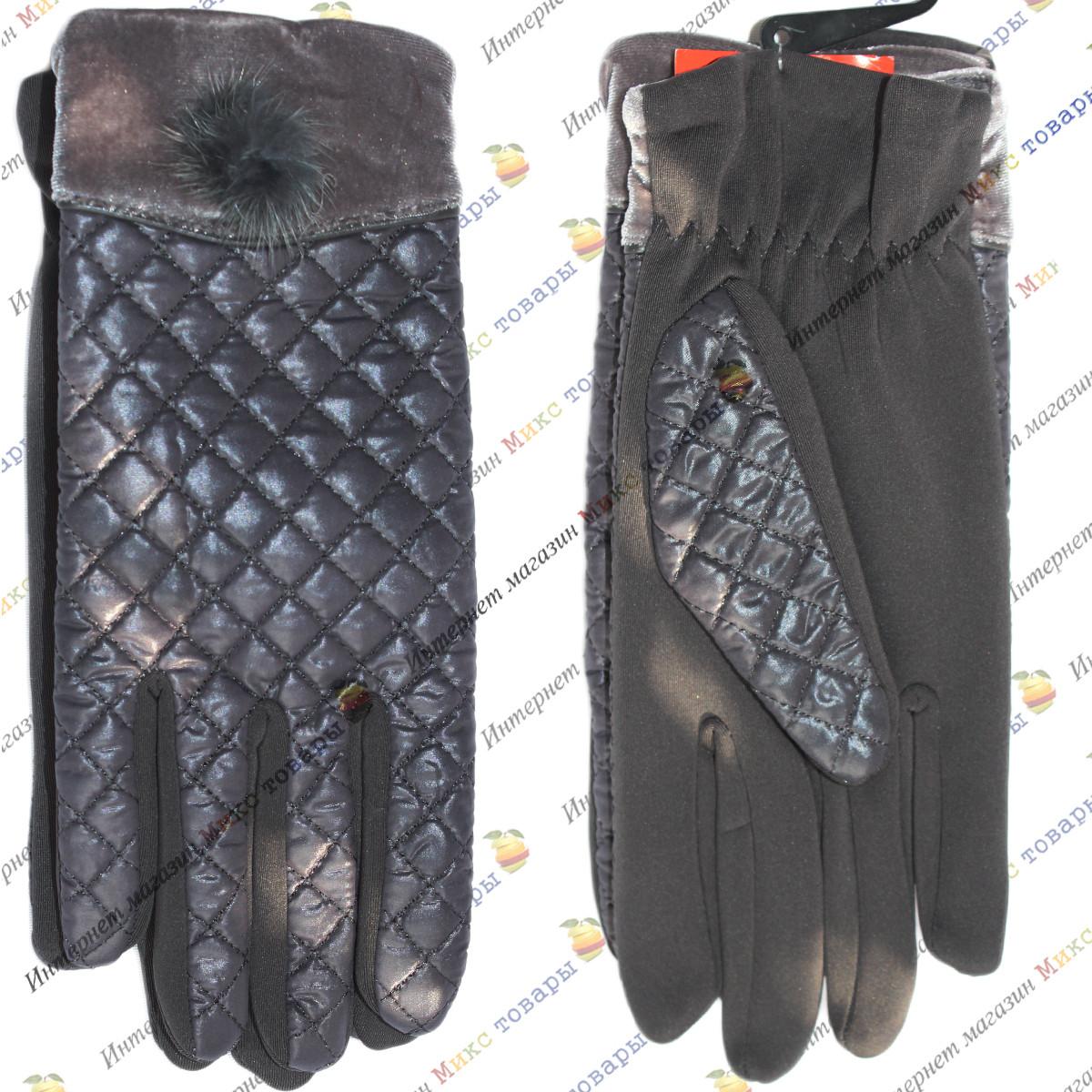 Женские перчатки вафелька