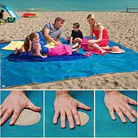 Пляжная подстилка анти-песок SAND FREE MAT, фото 1
