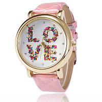 """Стильные женские часы """"LOVE"""" 7113614-2 оптом (38434)"""