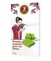 Органический шоколад SHOUD'E с зеленым чаем Matcha 90 г
