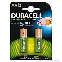 Аккумуляторы Duracell Ni-MH AA HR06 2500 mAh (2шт.)