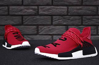 Мужские кроссовки Adidas NMD Human Race x Pharrell Williams Red, фото 3