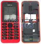 Передняя панель для Nokia 130, Rm-1035 Red