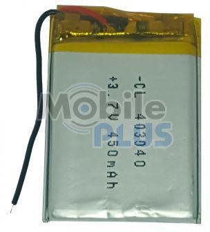 Аккумулятор с контроллером универсальный 45mm * 30mm * 4mm (Li-ion, 3,7V, 450 mAh)