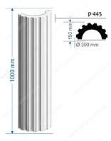 Интерьерная/фасадная лепнина: колонны