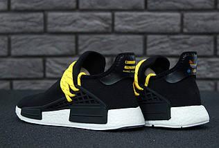 Мужские кроссовки Adidas NMD Human Race x Pharrell Williams Black, фото 2