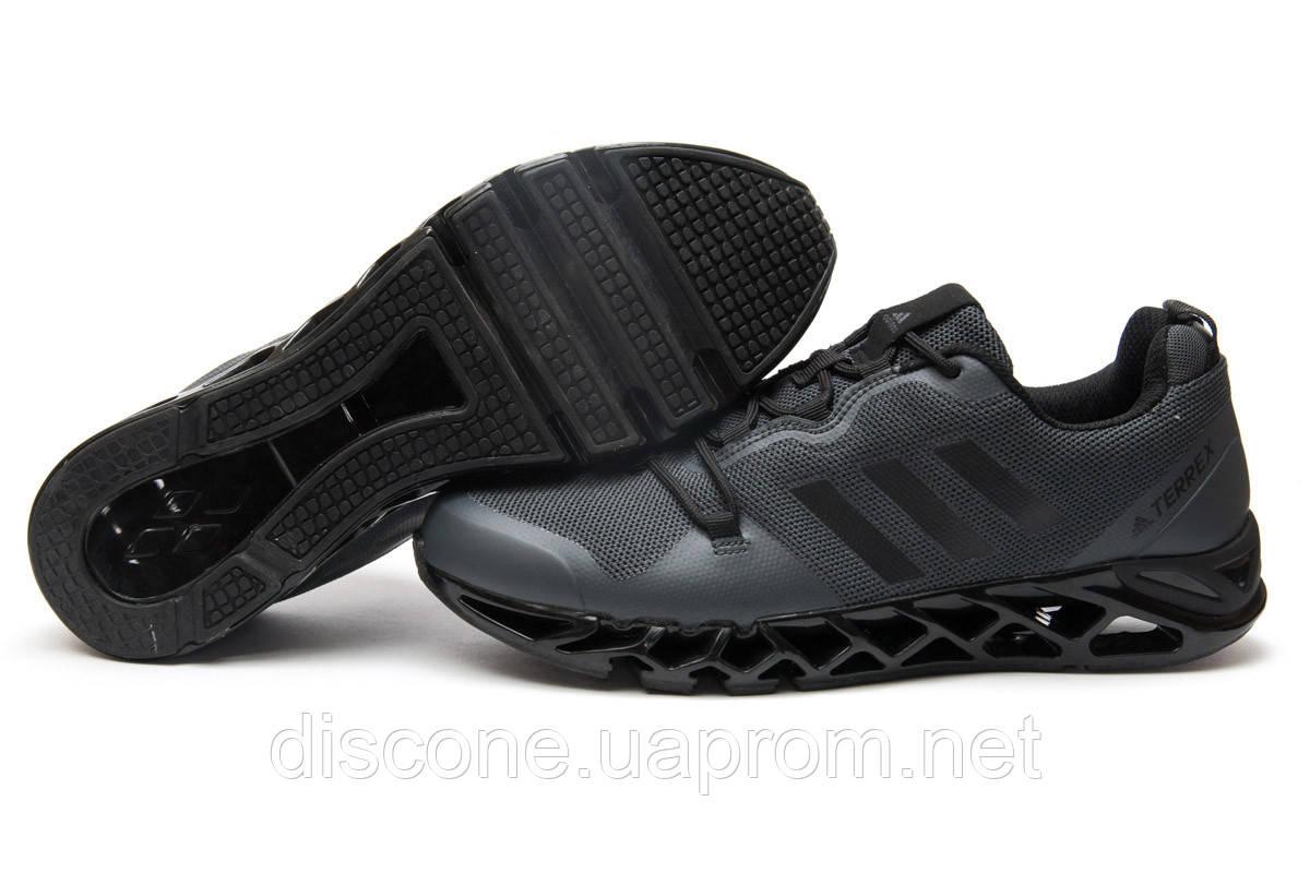 Кроссовки мужские 13592 ► Adidas Terrex, серые ✅Скидка 32% ► [ 42 ]
