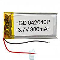 Аккумулятор GD 042040P 450mAh Li-ion 3.7V