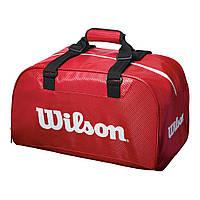 Теннисная сумка WILSON RED DUFFEL SMALL 2018