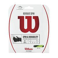 Теннисные струны WILSON REVOLVE SPIN 16GR