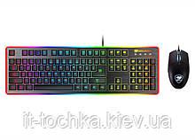 Проводной комплект cougar deathfire ex гибридные свитчи 8 профилей подсветки клавиатуры и мыши