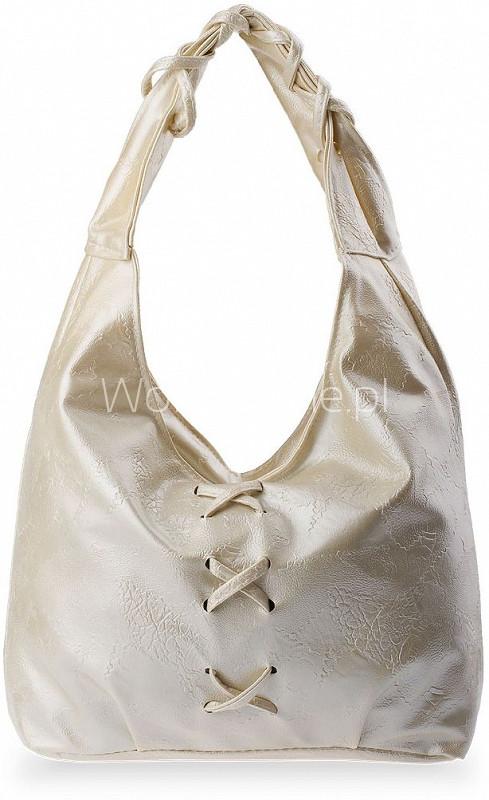 Серая женская сумка 110348 - Shoester - обувь,сумки и аксессуары из Польши. Прямой поставщик в Львове