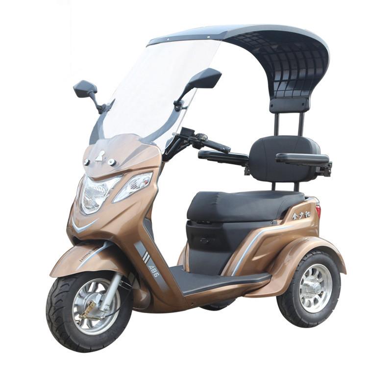 Электро скутер трицикл для пожилых полузакрытый Thunder King