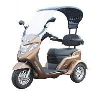 Электро скутер трицикл для пожилых полузакрытый Thunder King , фото 1