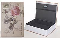 Книга-сейф MK 1847-2 (Rose) с замком, металл