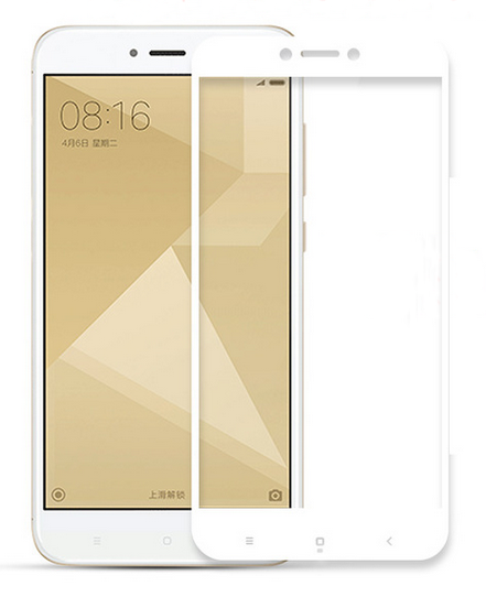 Защитное стекло (3D) White для Meizu M6 белый