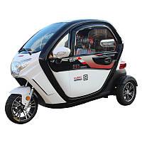 Электро скутер трехколесный капсула REN.Для пожилых и инвалидов.