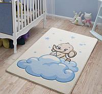 Коврик в детскую комнату CONFETTI BABY ELEPHANT 01 голубой