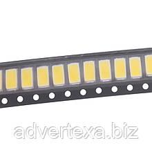 Світлодіод теплий білий SMD 0.5 Вт 3.2-3.4 У 50-55lm 2800-3500К