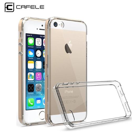 Cafele прозрачный силиконовый чехол для Apple iPhone5/5S/SE