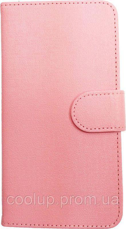 "Чехол-книжка TOTO Book cover PU Universal 4.7"" Pink"