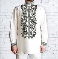 Заготовка мужской рубашки / вышиванки / сорочки для вышивки / вышивания бисером или нитками «Сокальська-2»