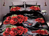 Семейный набор хлопкового постельного белья из Ранфорса №383 Черешенка™