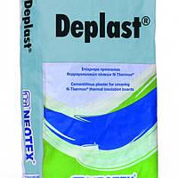 Высокопрочная цементная шпаклевка для теплоизоляционных плит DEPLAST 25 кг