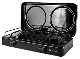 Плита кухонная газовая  Элна ПГ2-Н с Крышкой