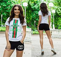Костюм шорты и футболка / 3 цвета  арт 5498-47