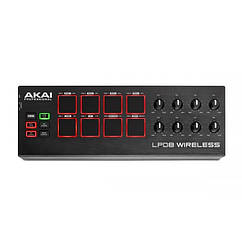 MIDI DJ контроллер Akai LPD8 микшерный пульт