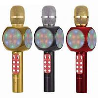 Беспроводной микрофон с динамиком 2 в 1 DM Karaoke 1816