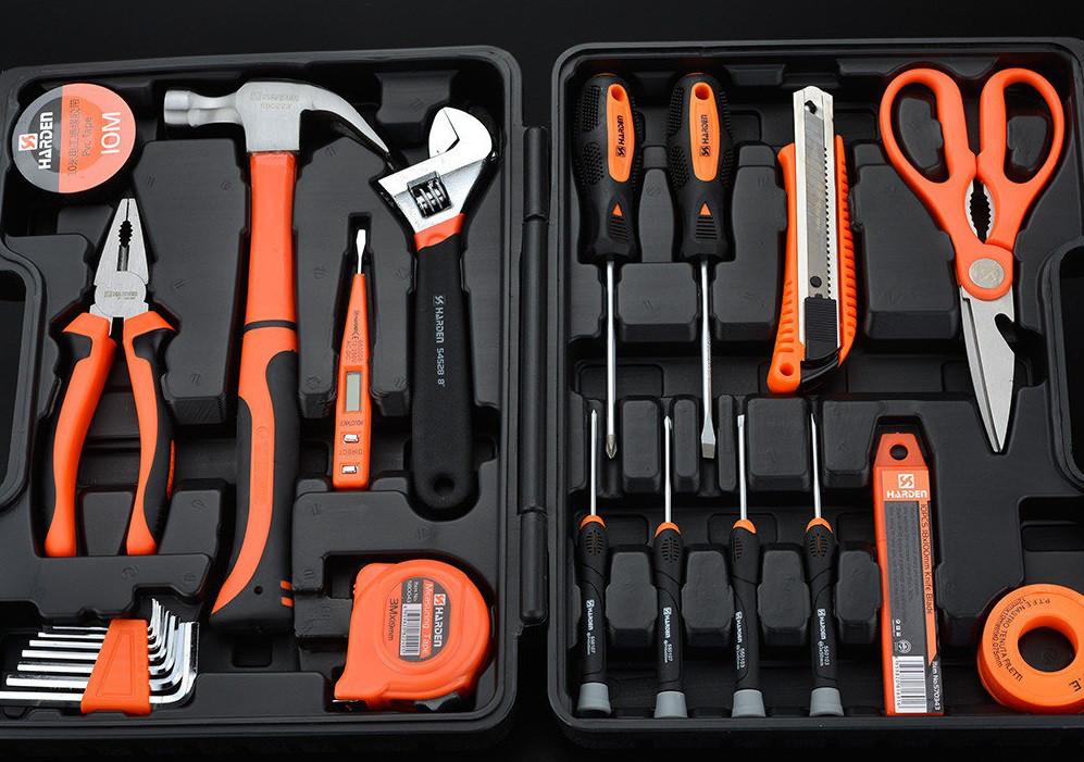Набор инструментов универсальный для дома 23 пр. Harden Tools 511011