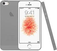 Чехол-накладка TOTO TPU case matte iPhone 5/5S/SE Dark/Grey