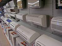 Новые торговые стеллажи для кондиционеров и бойлеров в магазин бытовой техники. Торговое оборудование WIKO, фото 1