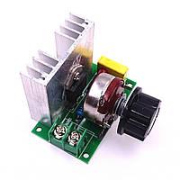 Контроллер скорости вращения двигателя переменного тока  регулятор мощности ТЭНов 220В 3800Вт, фото 1