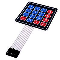 Клавиатура для Arduino (4х4 matrix keyboard)