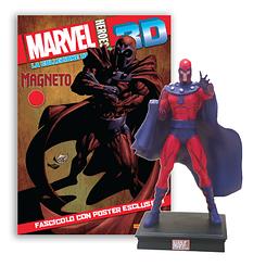 Мініатюрна фігура Герої Marvel 3D №10 Магнето (Centauria) масштаб 1:16