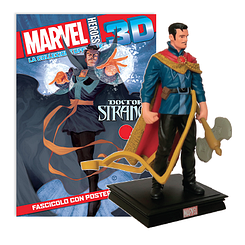 Мініатюрна фігура Герої Marvel 3D №11 Доктор Стрендж (Centauria) масштаб 1:16