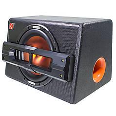 """ϞСабвуфер KUERL 10"""" K-1030APR максимальная мощность звука 1200 (Вт) в автомобиль с дополнительным усилителем"""