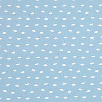 ✁ Отрез хлопковой ткани Галька на пудровом голубом100х80 см, фото 1