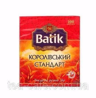 Чай Батик Королевский стандарт, 100 пак.