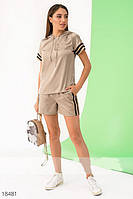 Женский летний костюм с шортами, фото 1