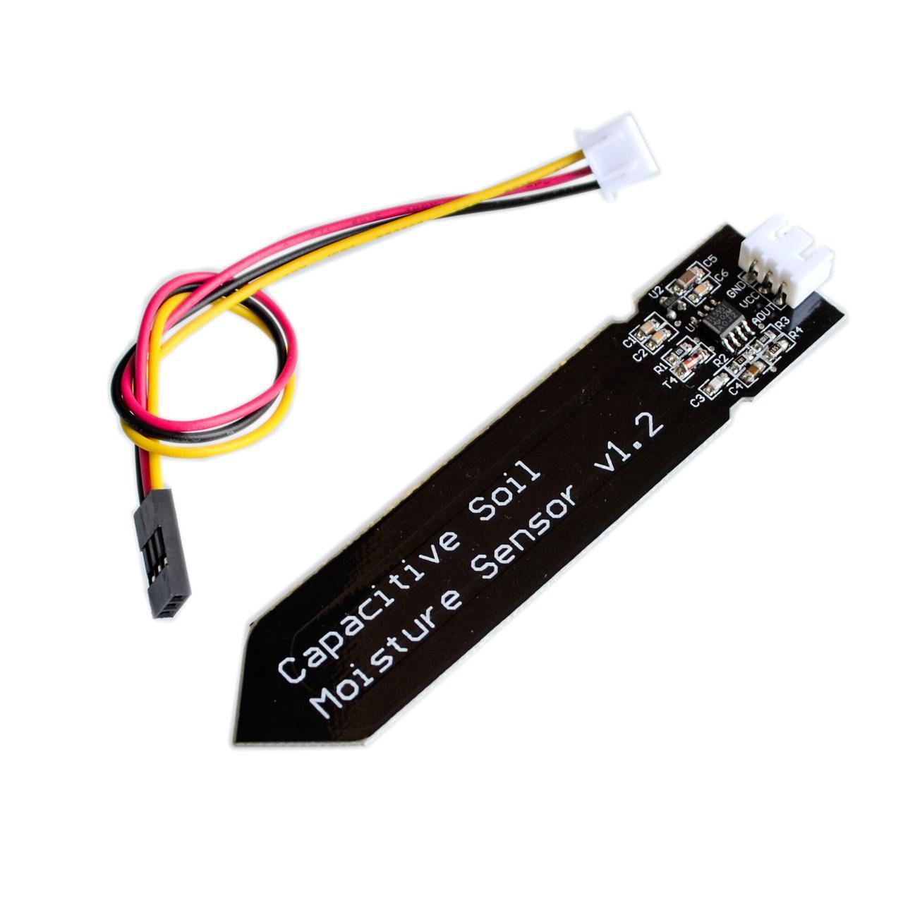 Аналоговый датчик, сенсор влажности почвы, 3.3 - 5.5V Arduino/Raspberry