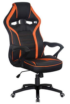 Кресло Game black/orange (Special4You-ТМ), фото 2