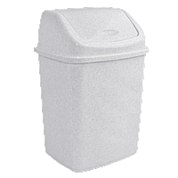 Ведро для мусора 5л с крышкой