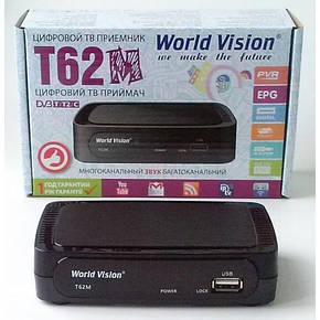 Цифровой эфирный приемник T2  World Vision T62M, фото 2