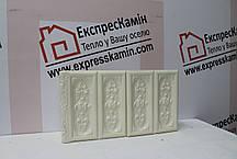 Изразцовая плитка «Австрийский цветок» слоновая кость , фото 2
