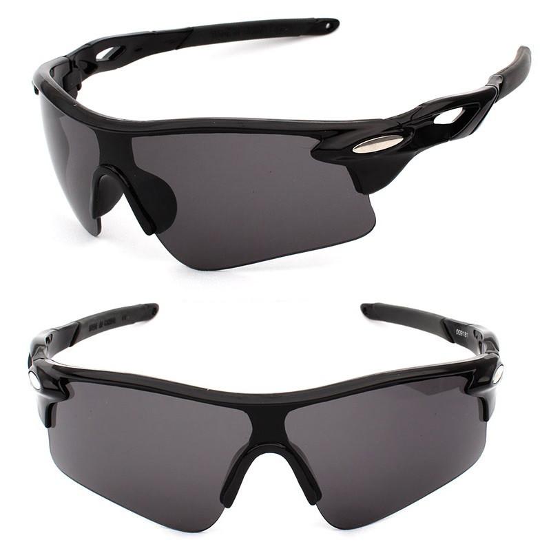 Очки спортивные Robesbon Black тактические велосипедные спортивные вел 40e47f706e5c7