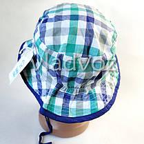 Детская летняя панамка для мальчика клетка бренд C&A 1-2 года, фото 3